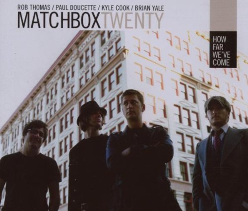 Matchbox Twenty, How Far We've Come, Piano, Vocal & Guitar (Right-Hand Melody)