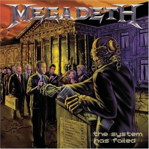 Megadeth, Tears In A Vial, Guitar Tab