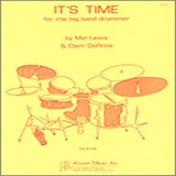 Mel Lewis It's Time For The Big Band Drummer Sheet Music and PDF music score - SKU 124971