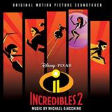 Michael Giacchino Elastigirl Is Back (from The Incredibles 2) Sheet Music and PDF music score - SKU 254789