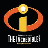 Michael Giacchino Missile Lock (from The Incredibles) Sheet Music and PDF music score - SKU 30878