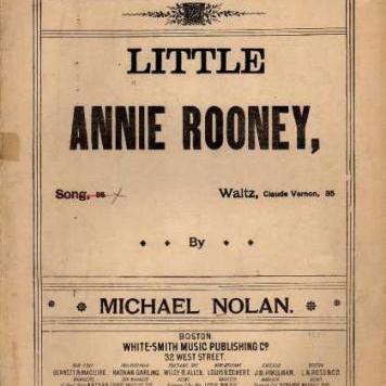 Little Annie Rooney sheet music