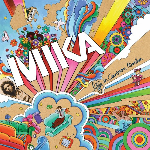 Mika, Happy Ending, Piano, Vocal & Guitar (Right-Hand Melody)