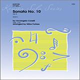 Mike Forbes Sonata No. 10 (Op. 5) - Piano Accompaniment Sheet Music and PDF music score - SKU 369210