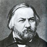 Mikhail Glinka Cappricio On Russian Themes In A major Sheet Music and PDF music score - SKU 117251