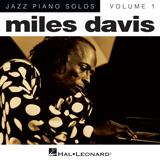 Miles Davis Solar Sheet Music and PDF music score - SKU 53209