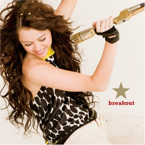 Miley Cyrus, Breakout, Piano, Vocal & Guitar (Right-Hand Melody)