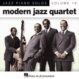 Modern Jazz Quartet Connie's Blues (arr. Brent Edstrom) Sheet Music and PDF music score - SKU 88337