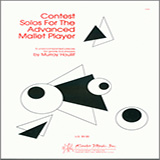 Murray Houllif Contest Solos For The Advanced Mallet Player Sheet Music and PDF music score - SKU 381734