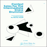 Murray Houllif Contest Solos For The Intermediate Snare Drummer Sheet Music and PDF music score - SKU 380374