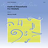Murray Houllif Festival Repertoire For Mallets Sheet Music and PDF music score - SKU 380378