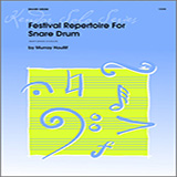 Murray Houllif Festival Repertoire For Snare Drum Sheet Music and PDF music score - SKU 124895