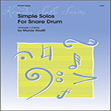 Murray Houllif Simple Solos For Snare Drum Sheet Music and PDF music score - SKU 124905