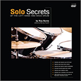 Murray Houllif Solo Secrets - Of The Left Hand And Bass Drum Sheet Music and PDF music score - SKU 372156