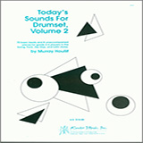 Murray Houllif Today's Sounds For Drumset, Volume 2 Sheet Music and PDF music score - SKU 376685