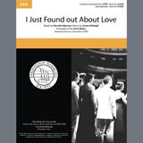 Nat King Cole I Just Found out About Love (arr. Dave Briner) Sheet Music and PDF music score - SKU 406780