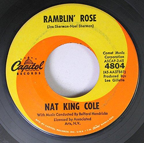 Nat King Cole, Ramblin' Rose, Piano, Vocal & Guitar (Right-Hand Melody)