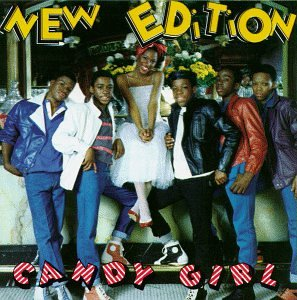 New Edition, Candy Girl, Piano, Vocal & Guitar (Right-Hand Melody)