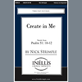 Nick Strimple Create in Me Sheet Music and PDF music score - SKU 451197