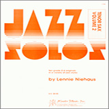 Niehaus Jazz Solos For Tenor Sax, Volume 2 Sheet Music and PDF music score - SKU 124772