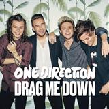 One Direction Drag Me Down Sheet Music and PDF music score - SKU 170420
