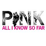 P!nk All I Know So Far Sheet Music and PDF music score - SKU 485489