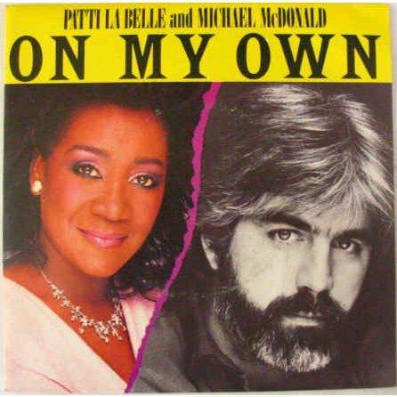 Patti LaBelle & Michael McDonald, On My Own, Piano, Vocal & Guitar