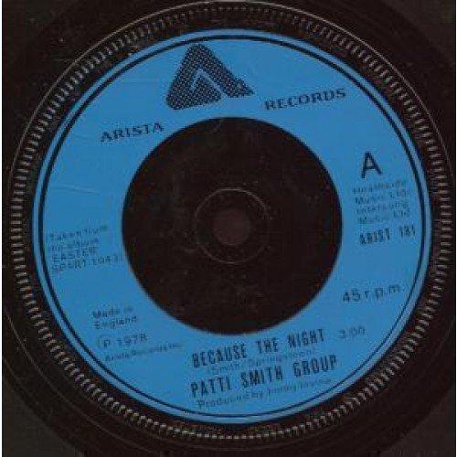 Patti Smith, Because The Night, Lyrics & Chords