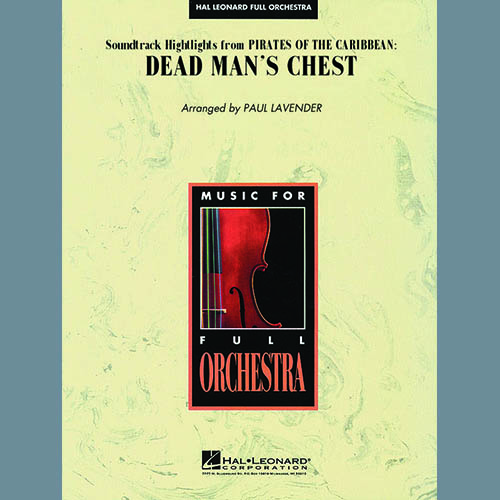 Paul Lavender, Soundtrack Highlights from Pirates Of The Caribbean: Dead Man's Chest - Bb Trumpet 3, Full Orchestra
