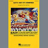 Paul Murtha Let's Get It Started - Eb Baritone Sax Sheet Music and PDF music score - SKU 282307