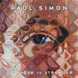 Paul Simon Stranger To Stranger Sheet Music and PDF music score - SKU 124685