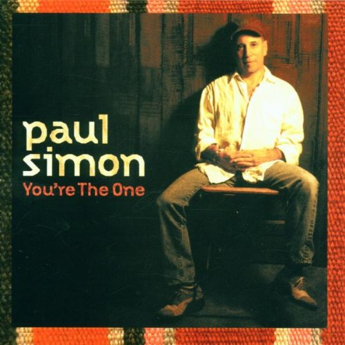Paul Simon, You're The One, Piano, Vocal & Guitar (Right-Hand Melody)