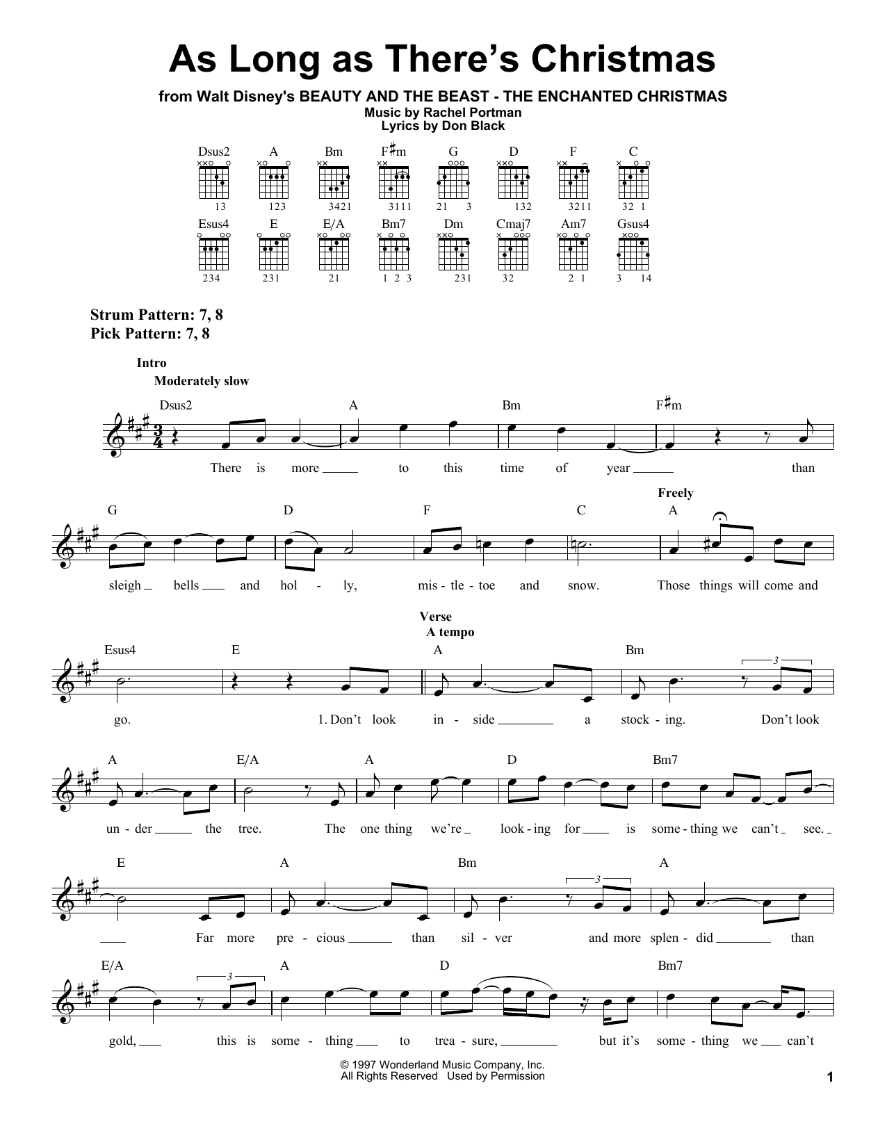 Download Peabo Bryson & Roberta Flack As Long As There's Christmas sheet music and printable PDF score & Film and TV music notes