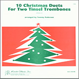 Pederson 10 Christmas Duets For Two Tinsel Trombones Sheet Music and PDF music score - SKU 124822