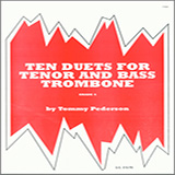 Pederson Ten Duets For Tenor And Bass Trombone Sheet Music and PDF music score - SKU 124821