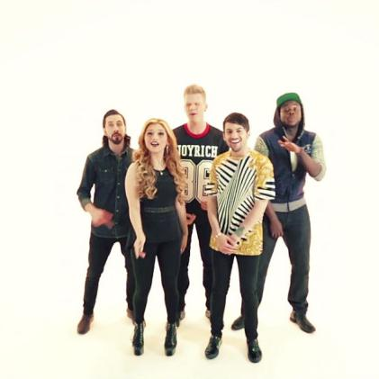 Pentatonix, The Most Wonderful Time Of The Year, Piano, Vocal & Guitar (Right-Hand Melody)
