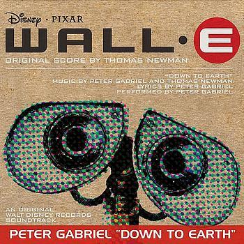 Peter Gabriel, Down To Earth (from WALL-E), Piano, Vocal & Guitar (Right-Hand Melody)