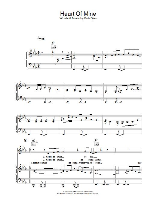 Download Peter Malick & Norah Jones Heart Of Mine sheet music and printable PDF score & Folk music notes