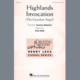 Peter Robb Highlands Invocation Sheet Music and PDF music score - SKU 178931