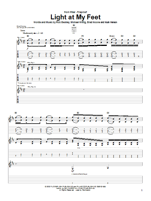 Download Pillar Light At My Feet sheet music and printable PDF score & Religious music notes