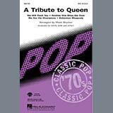 Queen A Tribute To Queen (Medley) (arr. Mark Brymer) - Baritone Sax Sheet Music and PDF music score - SKU 267461