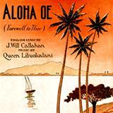 Queen Liliuokalani Aloha Oe Sheet Music and PDF music score - SKU 120078