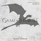 Ramin Djawadi A Lannister Always Pays His Debts (from Game of Thrones) Sheet Music and PDF music score - SKU 252540