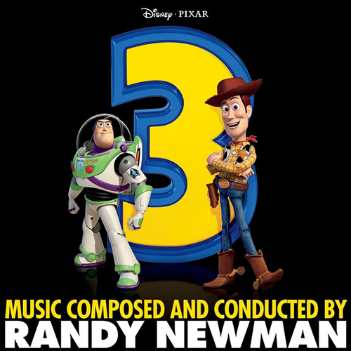 Randy Newman, We Belong Together (From Disney's Toy Story 3), Keyboard