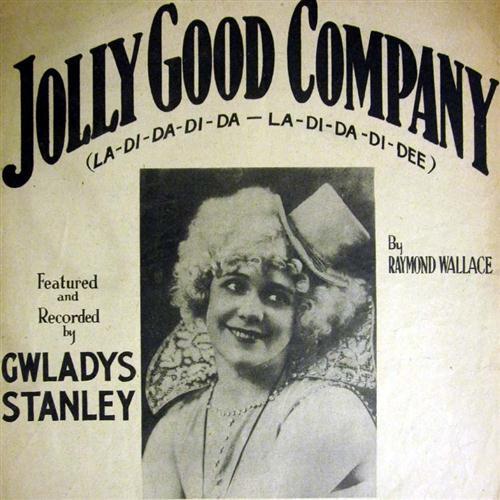 Raymond Wallace, Jolly Good Company, Melody Line, Lyrics & Chords