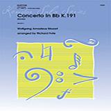 Richard Fote Concerto In Bb K191 (Rondo) - Baritone T.C. Sheet Music and PDF music score - SKU 381739