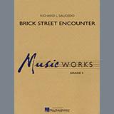 Richard L. Saucedo Brick Street Encounter - Trombone 1 Sheet Music and PDF music score - SKU 275421