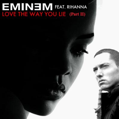 Rihanna, Love The Way You Lie, Pt. 2 (feat. Eminem), Piano, Vocal & Guitar (Right-Hand Melody)