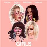 Rita Ora Girls (featuring Cardi B, Bebe Rexha and Charli XCX) Sheet Music and PDF music score - SKU 125853