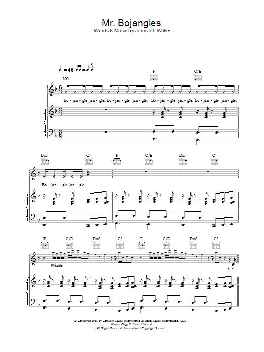 Download Robbie Williams Mr. Bojangles sheet music and printable PDF score & Pop music notes